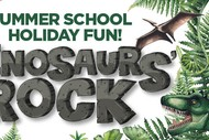 Image for event: Dinosaurs' Rock - Summer School Holiday Fun