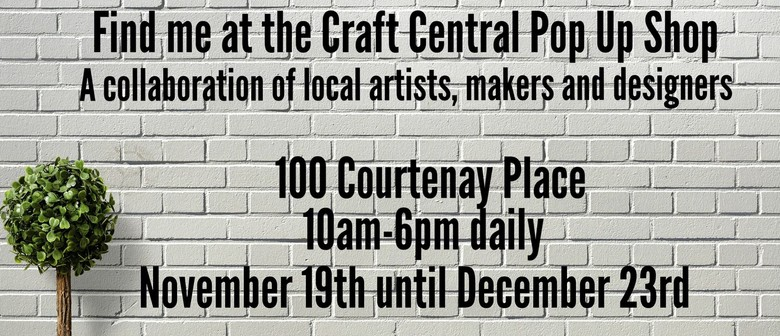 Craft Central Pop Up Shop