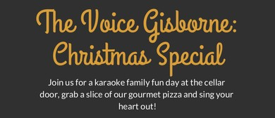 The Voice Gisborne - Karaoke Day