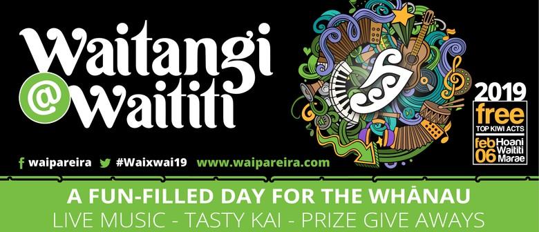 Waitangi@Waititi 2019