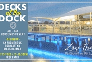Image for event: Decks At the Dock - House Music Daytime Party