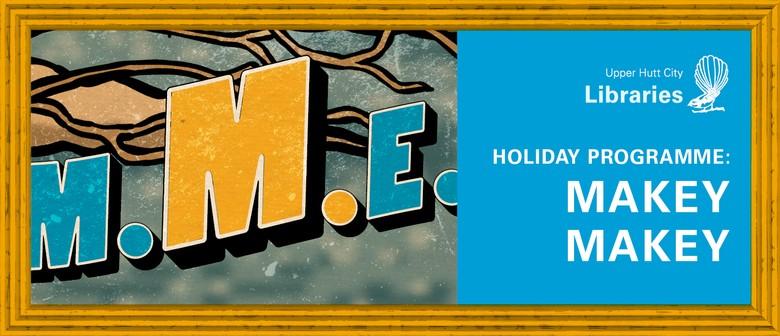 Holiday Programme: Makey Makey