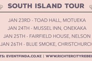 Image for event: Richter City Rebels - South Island Tour