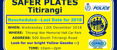 Safer Plates Titirangi