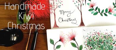 Handmade Kiwi Christmas: Beginners Watercolour Painting