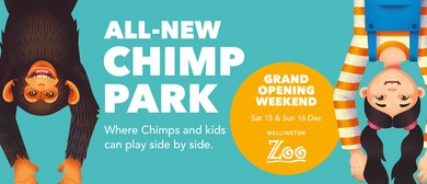 Wellington Zoo Chimp Park Grand Opening Weekend