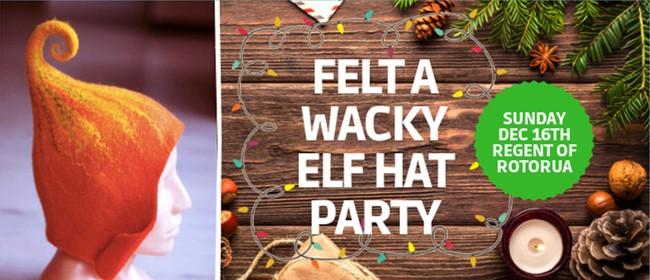 Felt a Wacky Elf Hat Party