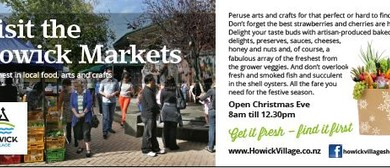 Howick Village Christmas Eve Market