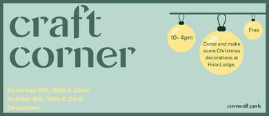Craft Corner - Christmas
