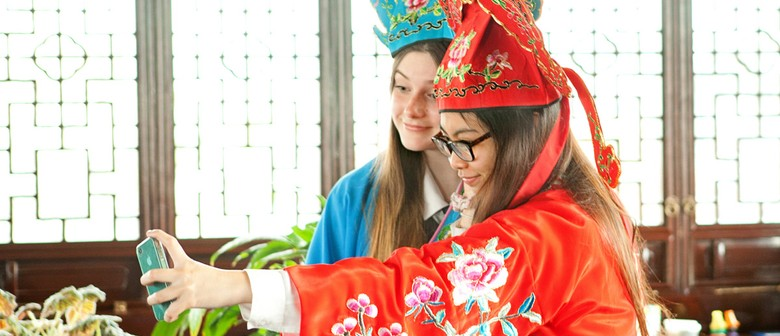 Chinese Dress Ups and Collage
