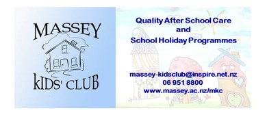 Massey Kids' Club Summer School Holiday Programme