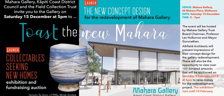 Opening: Toast the New Mahara - Concept & Exhibition Launch