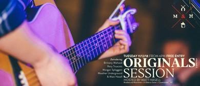 Originals Session Volume 11