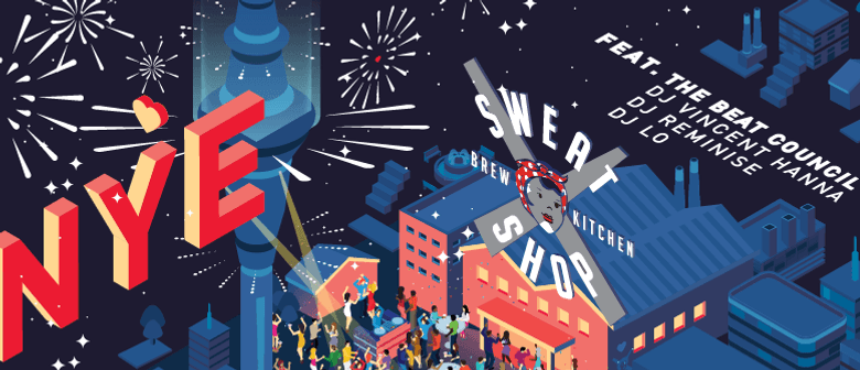 New Year's Eve at Sweat Shop Brew Kitchen