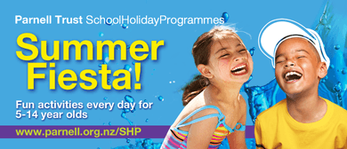 Parnell Pools Party - Parnell Trust Holiday Programme