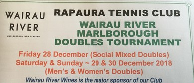 Rapaura Wairau River Doubles Tennis Tournament