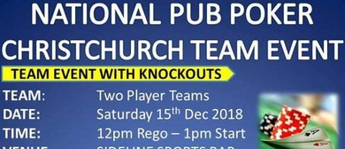 National Pub Poker Team Event