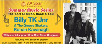 AA Sola Summer Series featuring Billy TK jnr, Ronan Kavanagh