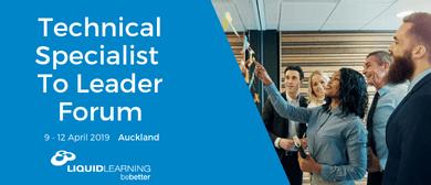 Technical Specialistto Leader Forum