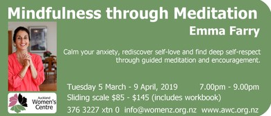 Mindfulness Through Meditation: SOLD OUT