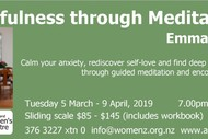 Image for event: Mindfulness Through Meditation: SOLD OUT