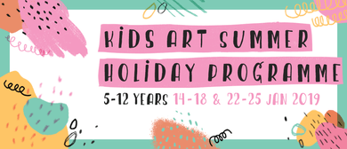 Kids Holiday Art Programme