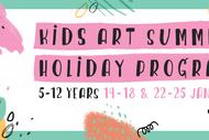 Image for event: Kids Holiday Art Programme