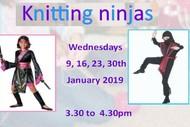 Image for event: Knitting Ninjas