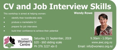 CV and Job Interview Skills for Women