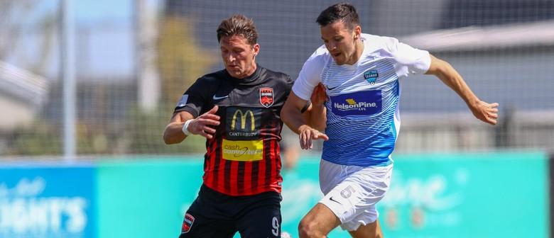 Tasman United vs Team Wellington