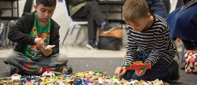 Imagination Station Holiday Brick School