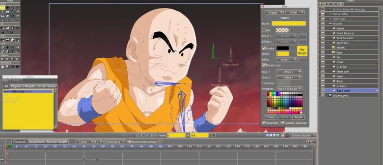 Anime Studio - An Introduction to Create Cartoon Animation