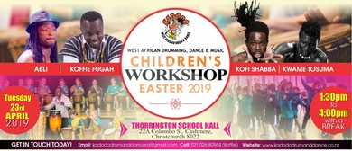 Kids African Drumming and Dance Workshop