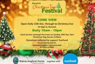 Image for event: Renwick Christmas Tree Festival