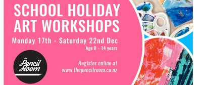 Children's School Holiday Art Workshops
