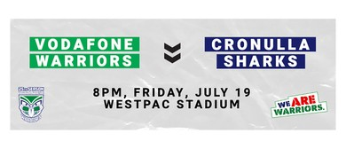 Vodafone Warriors v Cronulla-Sutherland Sharks