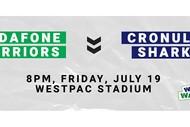 Image for event: Vodafone Warriors v Cronulla-Sutherland Sharks