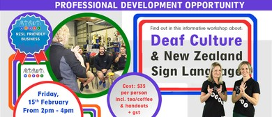 Deaf Culture & NZSL Training