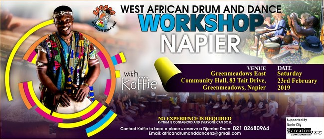 African Drumming and Dance Workshop