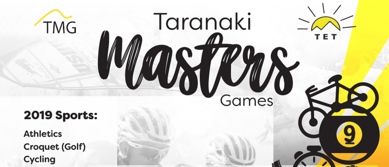 2019 TET Taranaki Masters Games