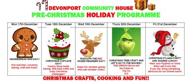 Pre-Christmas Holiday Programme
