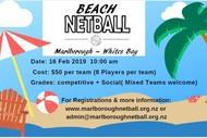 Image for event: Beach Netball Festival Day 2019