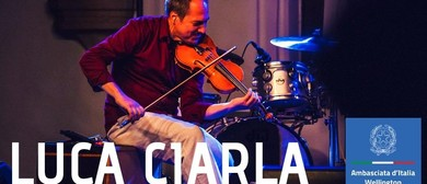 Christchurch Folk Music Club - Luca Ciarla solOrkestra
