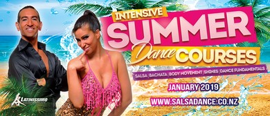 Salsa Beginners Plus Level 2 Summer Course