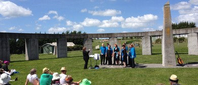 A Solitice Gathering With Music In the Henge