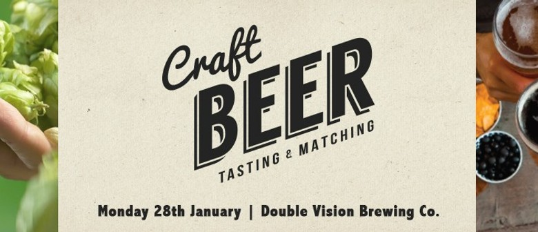 Monza Craft Beer and Food Matching - Double Vision Brewery