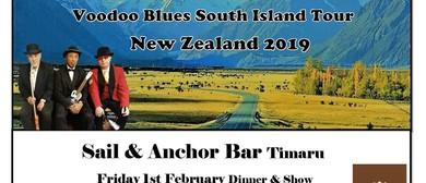 Isaiah B Brunt Trio & Voodoo Tour