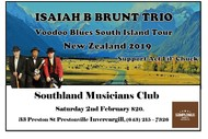 Image for event: Isaiah B Brunt Trio - Voodoo Tour