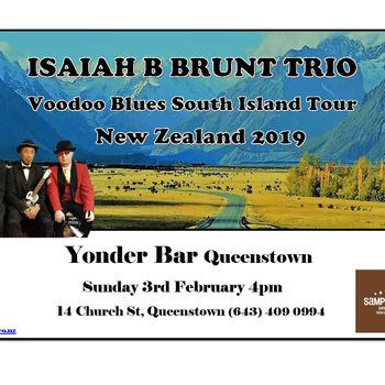 Isaiah B Brunt Trio - Voodoo Tour