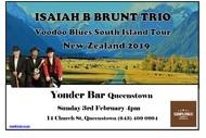 Image for event: Isaiah B Brunt Trio - Voodoo Tour